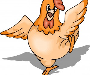 a picture of a hen